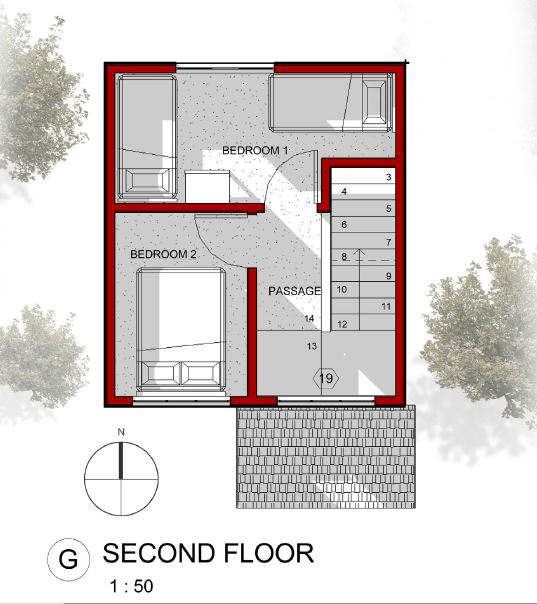 E-second floor